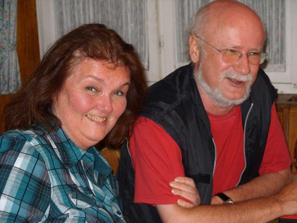 Herzlich willkommen auf unserer kleinen Internetseite wünscht Ihnen Ursula & Bernhard