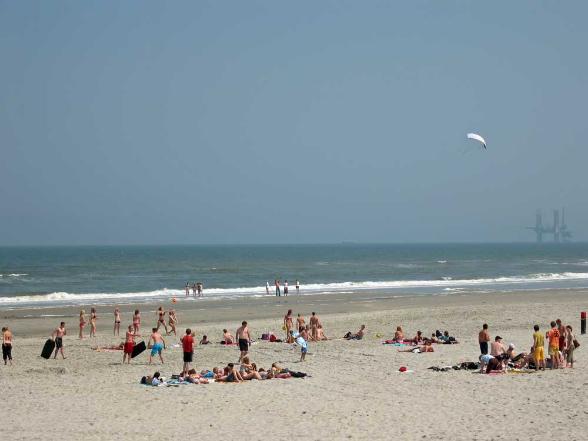 Strand von Buren auf Ameland